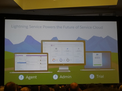 Lightning for ServiceCloud