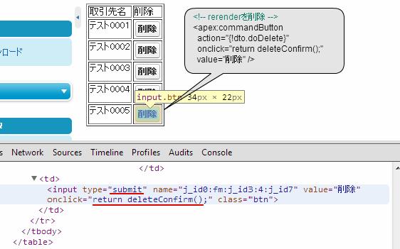 実際に出力されるHTML