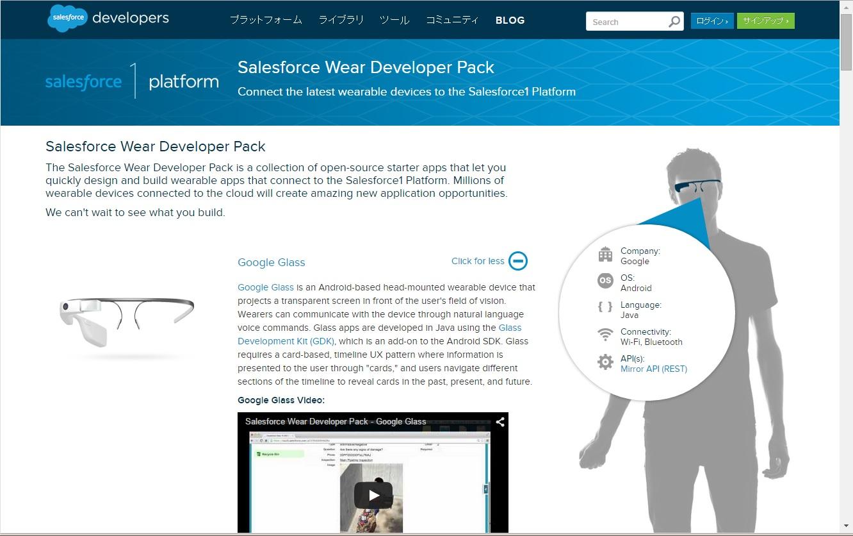 SalesforceWear