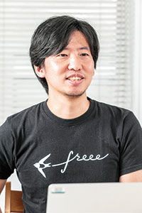 freee株式会社プロダクト戦略本部Product Manager鬼木 洋平 氏の写真